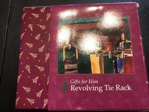 Revolving tie rack for Sale in Mount Dora, FL
