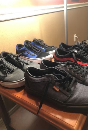Men's vans in great condition size 11-11.5 for Sale in Spring, TX