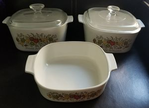 Pyrex Corning Ware Spice of Life L'Echalote La Marjolaine for Sale in Spring Valley, CA