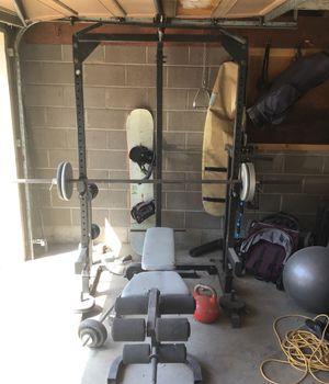 Home gym/ squat rack for Sale in Denver, CO