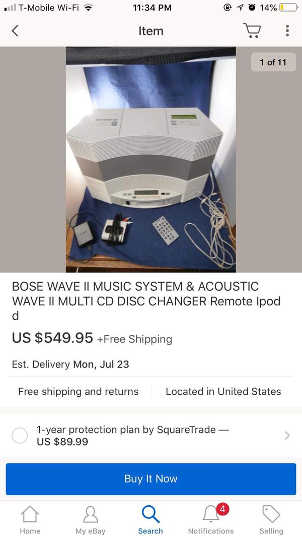 Bose Acoustic Wave Music system for Sale in Elgin, IL - OfferUp