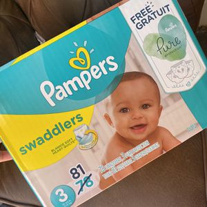 Pampers Diapers Size 3 NEW IN BOX NOT OPENED for Sale in Sacramento, CA