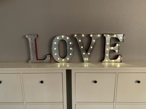 Love Marquee Sign for Sale in Phoenix, AZ