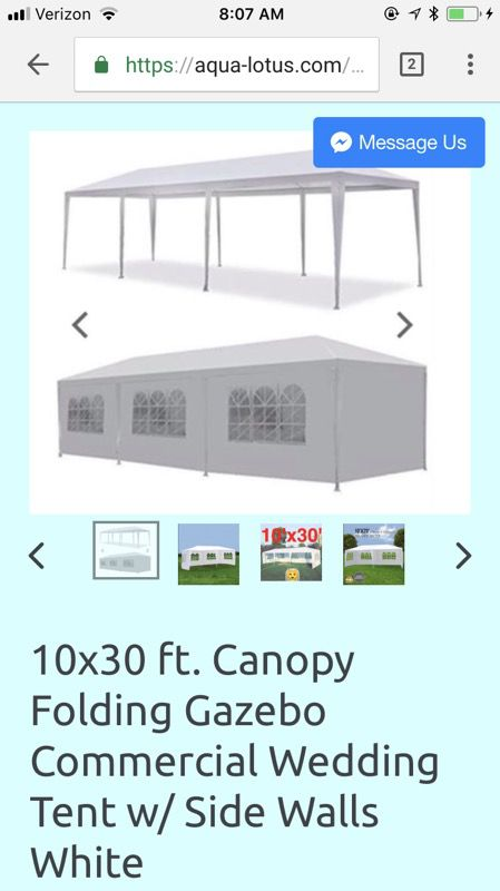 10x30 Party/ event tents