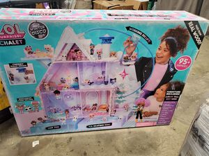 Brand new LOL surprise Chalet winter Disco dollhouse with 95 + surprises for Sale in Riverside, CA
