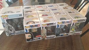 Funko Pops (2 F.Y.E Exclusives, 1 Px Preview Exclusive Signed, 2 Barnes and Noble exclusives, 1 Target Exclusive, 1 2017 Fall Funko Convention Exclus for Sale in Bowie, MD