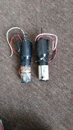 Two 1 stage start capacitors for Sale in Peoria, IL