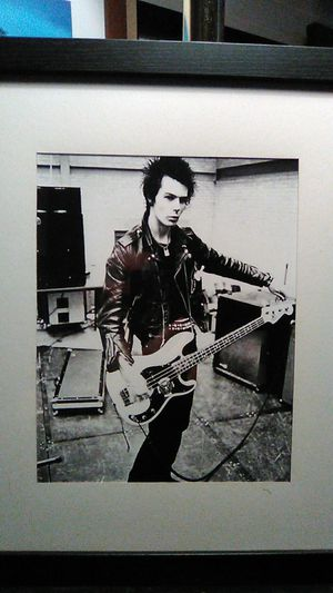 Sid Vicious Tuning His Bass for Sale in Taft, CA