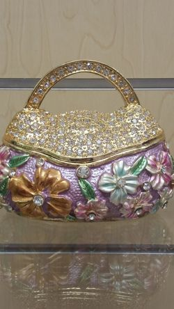 Jeweled Purse Trinket / Figurine ( NEW ) for Sale in Holladay,  UT