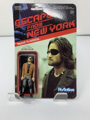 Snake Plissken Escape from New York Collectible Action Figure (New/Card Slightly bent) for Sale in Washington, DC