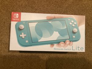 Nintendo Switch Lite Turquoise for Sale in Bowie, MD