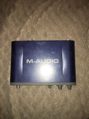 M-AUDIO Fast Track Pro for Sale in Queen Creek, AZ