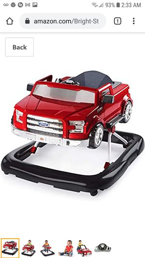 Bright Starts Ford F-150 3 Ways to Play Walker, Red for Sale in Coal City, IL
