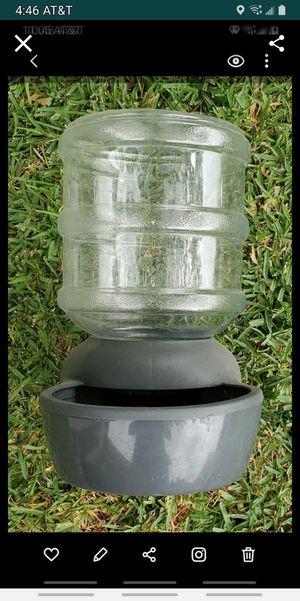 water feeder, 2-1/2 gallon for Sale in Colton, CA