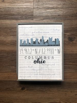 Columbus Wall Decoration for Sale in Columbus, OH