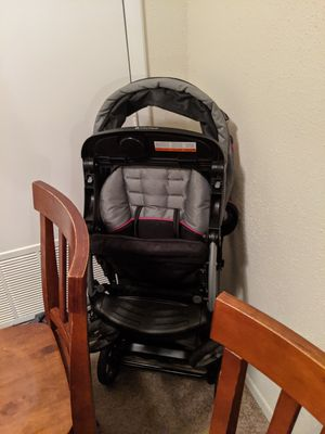 Sit N' Stand Double Stroller Pink, Gray, & Black for Sale in Virginia Beach, VA