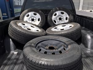 235/75/R17 Steelies Wheels Rims ***Please read ad**** for Sale in Hialeah, FL