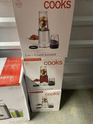 Cooks 5 in 1 power blender for Sale in Houston, TX