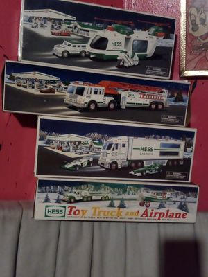 Hess collectable truck's and planes for Sale in Philadelphia, PA