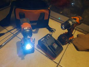 Drill ridgid 18vol for Sale in Oakland Park, FL