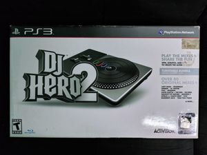 Dj hero 2 ps3 party bundle CIB for Sale in Pittsburgh, PA