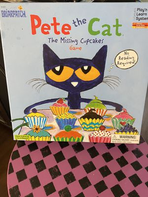 Pete the cat Groovy missing cupcakes board game for Sale in Knightdale, NC