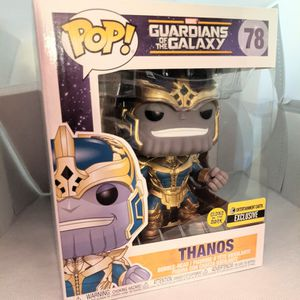 Thanos Glow in the Dark Funko Pop - Disney Marvel Avengers Guardian of the Galaxy Marvel for Sale in Hacienda Heights, CA