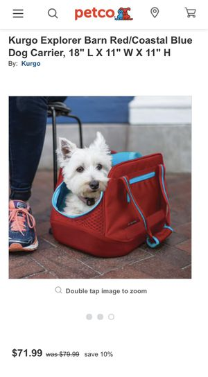 Kurgo dog carrier for Sale in Murfreesboro, TN