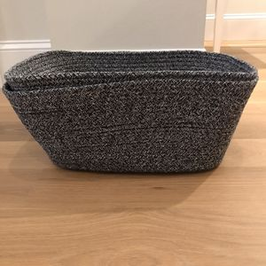 Set of 2 - Container Store Large Laguna Storage Bins for Sale in Boston, MA