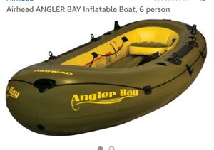 AIRHEAD Angler Bay 6 person inflatable boat for Sale in Rochester, MI
