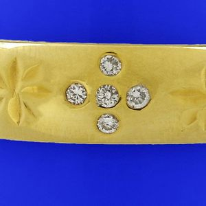 9929 MENS ESTATE 14K GOLD DIAMOND WEDDING BAND RING 8.30GRAMS for Sale in Los Angeles, CA