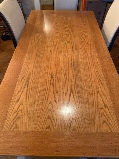 Extendable Italian wooden dining room table for Sale, used for sale  Fort Lee, NJ