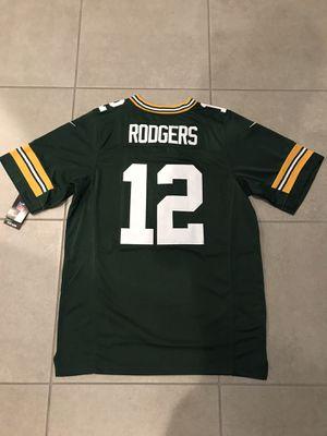 Brand New Aaron Rodgers #12 Green Bay Packers Green Men's Jersey for Sale in Queen Creek, AZ