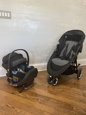 Cybex Agis M-air 3 stroller and Car seat $259 for Sale in Skokie, IL