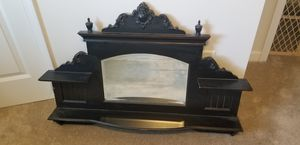 Black Wall Mirror with Display Shelves for Sale in La Vergne, TN