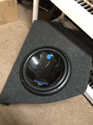 Custom G35 Coupe speaker box for Sale in Jarvisburg, NC