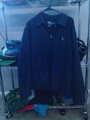 Polo Ralph Lauren Navy Windbreaker jacket for Sale in Tempe, AZ