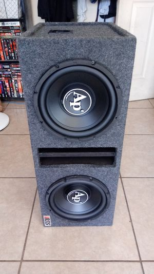 Audiopipe 10s subwoofers for Sale in Mesa, AZ
