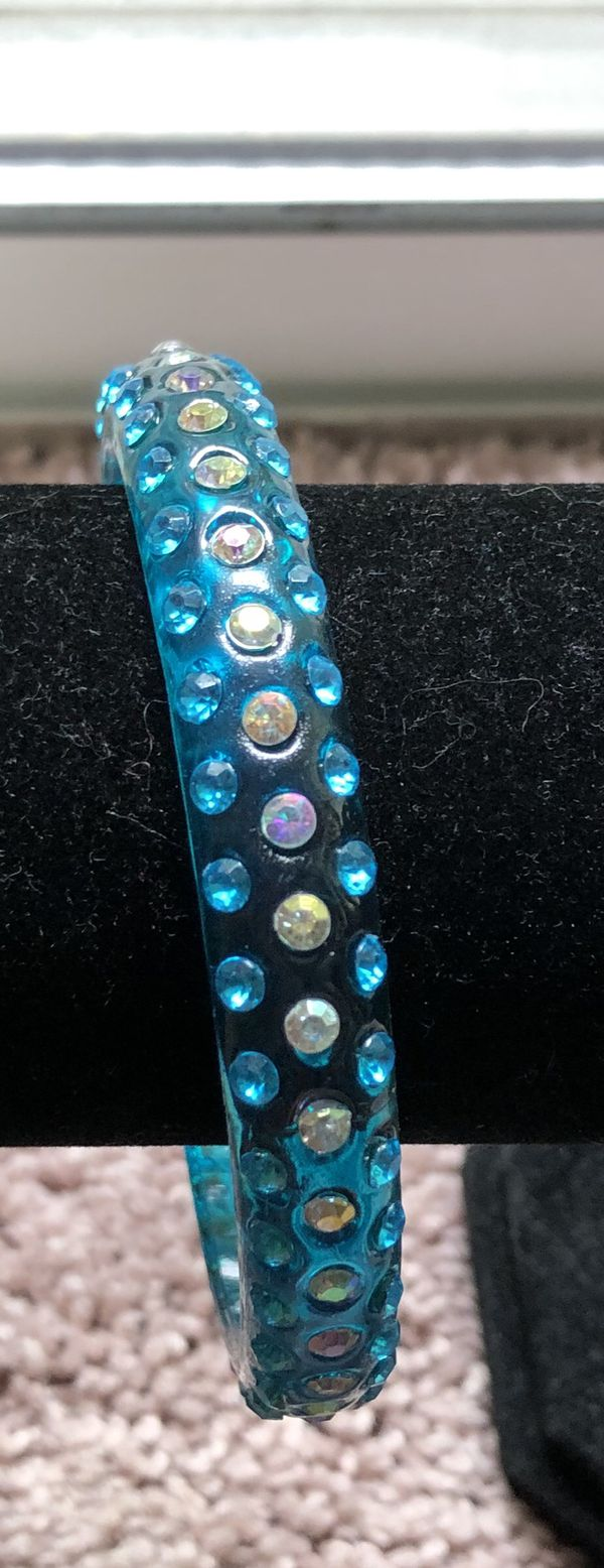 Blue Fashion Bangle