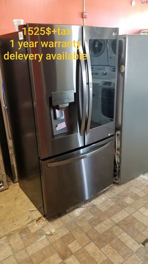 New items, Appliances 100% new, lg, samsung, whirlpool..... 1 year warranty , delivery for Sale in Pawtucket, RI