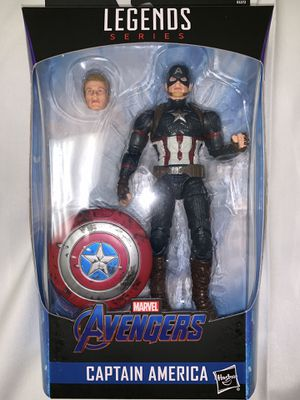 Marvel Legends Captain America worthy for Sale in Menifee, CA