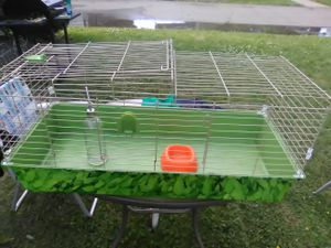 Guinea pig or rabbit cage for Sale in Sloan, NY