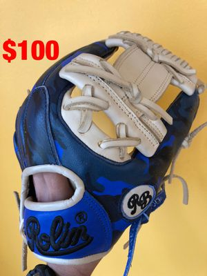 Rolin baseball glove new condition quality pro leather béisbol for Sale in Los Angeles, CA