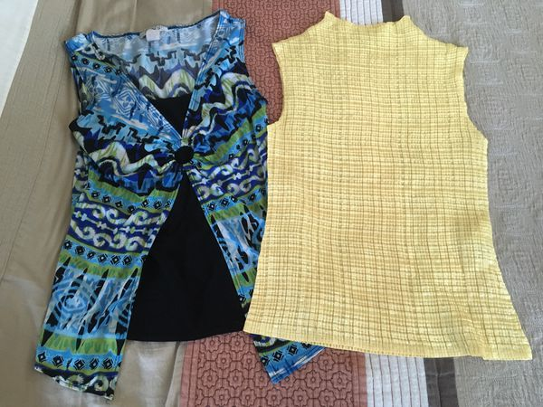 Women's Blouses Size Medium and Small