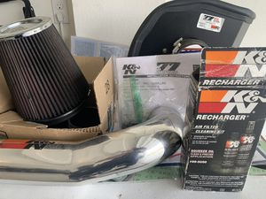 K&N (used) air intake 77 series for 2014-2020 Chevy/GMC/Cadillac for Sale in Murrieta, CA