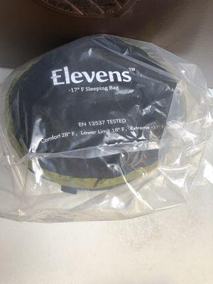 Elevens sleeping bag. for Sale in Chesapeake, VA