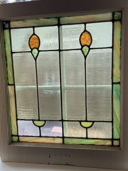 Vintage Stained Glass Window for Sale in Elk Grove,  CA