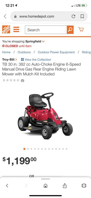 riding lawnmower for Sale in Springfield, VA