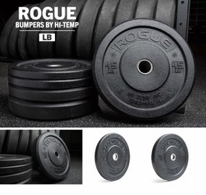 NEW Rogue Hi Temp Bumper Plates 45s 35s Sets Pair Olympic Weights keyword: power rack power cage squat rack bench dumbbells barbell bar for Sale in San Jose, CA