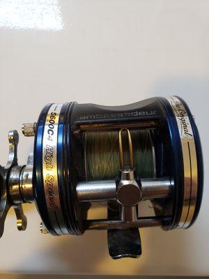 Use Abu Gracia levelwind fishing reel for Sale in Stockton, CA
